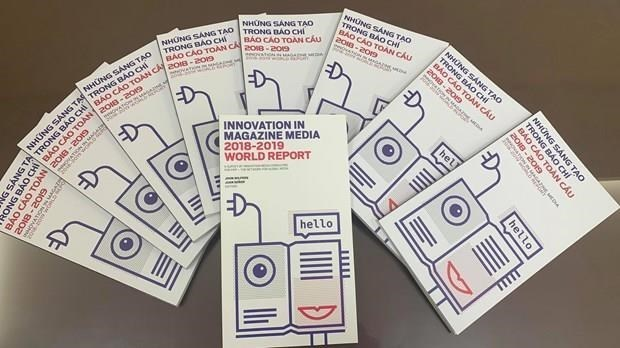 Publica la VNA version en vietnamita del Informe Mundial sobre Innovaciones en medios de prensa hinh anh 1