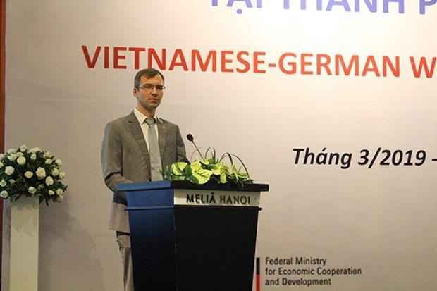 Vietnam y Alemania colaboran en gestion del agua hinh anh 1