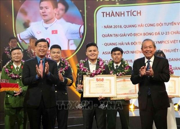 Honran a los diez jovenes vietnamitas mas destacados en 2018 hinh anh 1