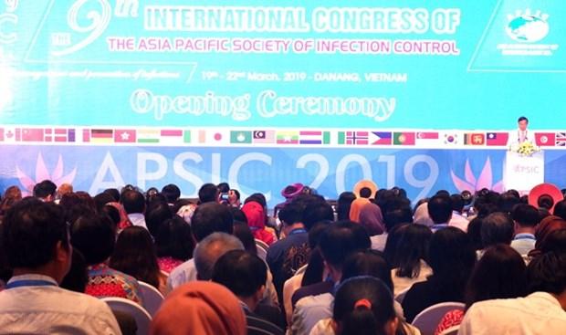 Celebran en Vietnam conferencia de Asia- Pacifico sobre control de infecciones hinh anh 1