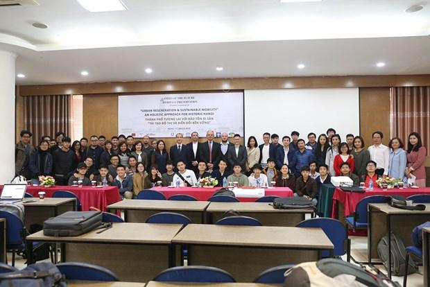 Ofrece Italia a Vietnam soluciones para el desarrollo urbano y la preservacion cultural hinh anh 1