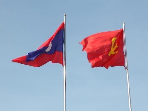 Vietnam felicita al Partido Popular Revolucionario de Laos por su 64 aniversario de fundacion hinh anh 1