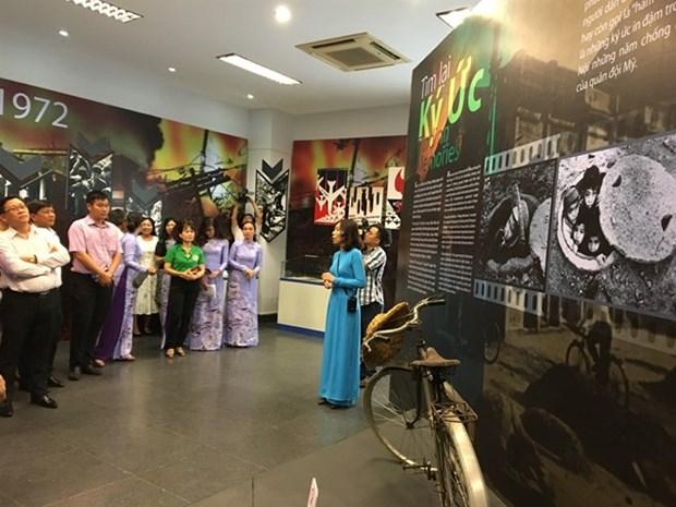 Exposicion en Vietnam destaca memorias inolvidables de guerra hinh anh 1