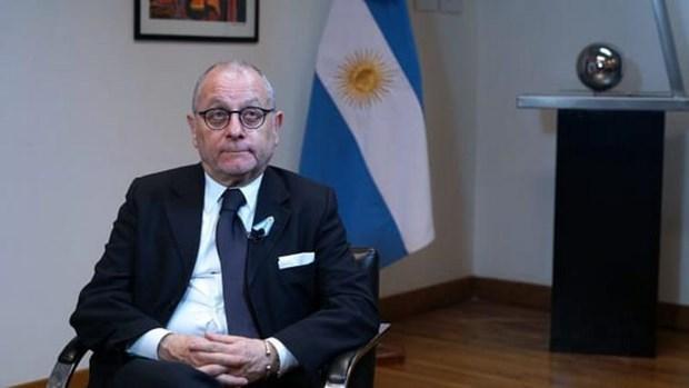 Argentina aprecia nexos de cooperacion con Asia hinh anh 1