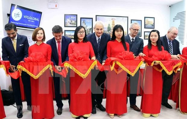 Inauguran en Da Nang oficina de visado de Belgica, Alemania e Italia hinh anh 1