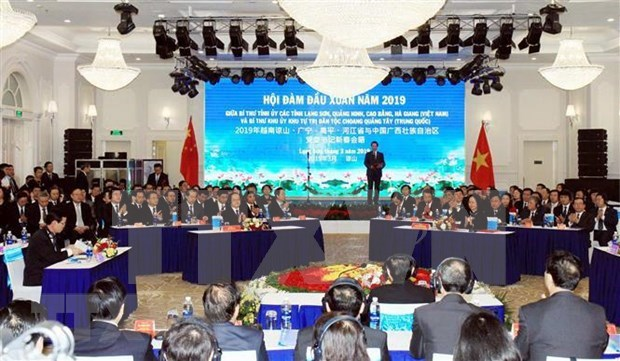 Impulsan cooperacion entre localidades vietnamitas y la region autonoma china de Guangxi hinh anh 1