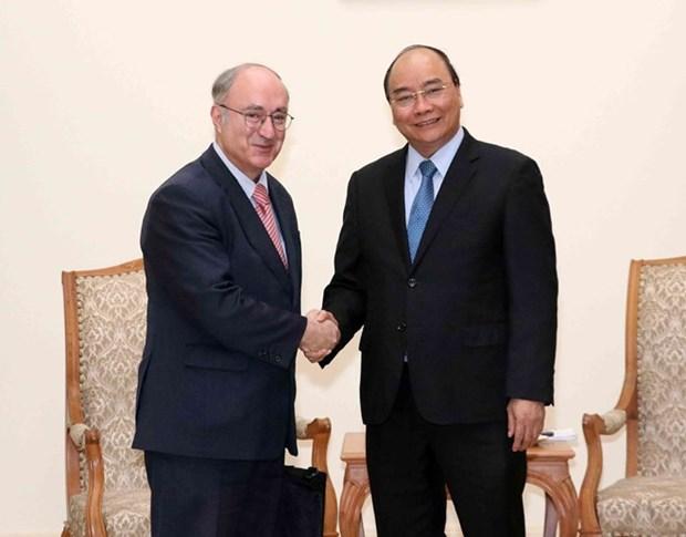Premier vietnamita reitera apoyo a la operacion de Universidad Alemania- Vietnam hinh anh 1