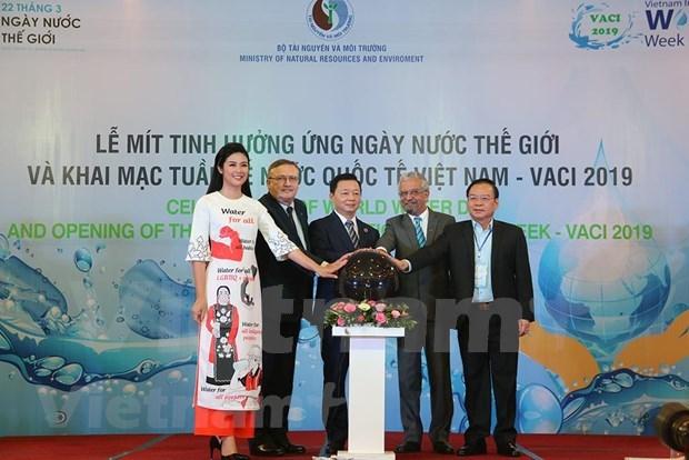 Celebran en Vietnam actividades por Dia Mundial del Agua hinh anh 1