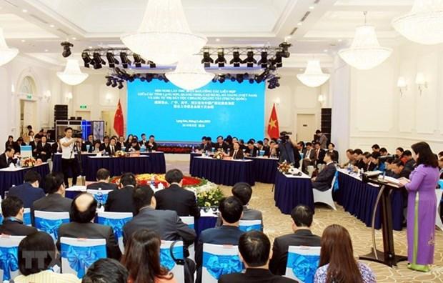 Provincias vietnamitas y region autonoma china acuerdan incrementar cooperacion hinh anh 1
