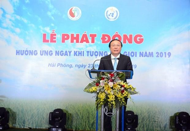 Vietnam responde al Dia Meteorologico Mundial hinh anh 1