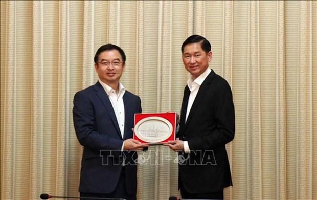 Ciudad Ho Chi Minh respalda al banco tailandes para abrir su sucursal en Vietnam hinh anh 1