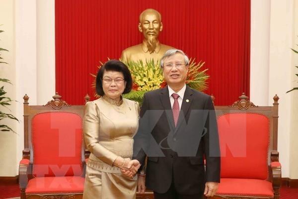 Alto funcionario partidista de Vietnam afirma que su pais atesora la amistad con Camboya hinh anh 1