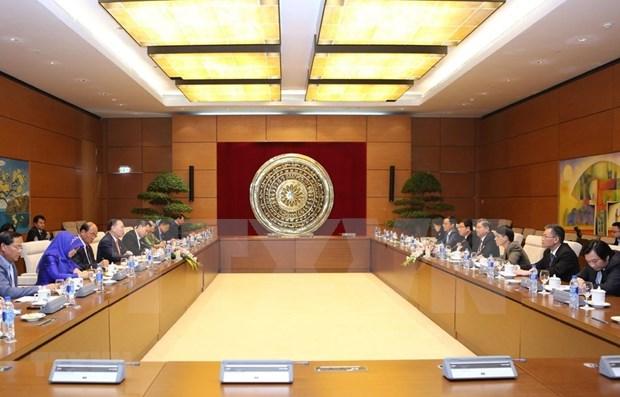 Organos legislativos de Vietnam y Camboya impulsan lazos hinh anh 1