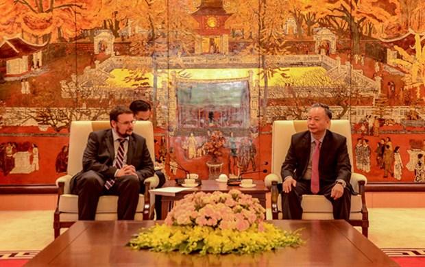 Hungria abrira un centro cultural en Hanoi hinh anh 1