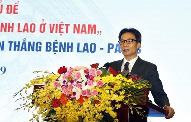 Vicepremier vietnamita urge un mayor esfuerzo para poner fin a la tuberculosis para 2030 hinh anh 1