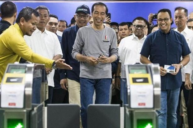 Yakarta inaugura su primera linea de metro subterraneo hinh anh 1