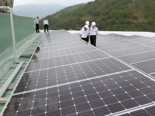 Primera planta de energia solar en provincia vietnamita de Quang Tri operara en junio de 2019 hinh anh 1