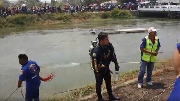Mueren cinco vietnamitas en un accidente de autobus en Tailandia hinh anh 1