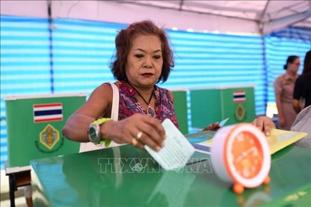 Tailandia celebra sus elecciones generales hinh anh 1