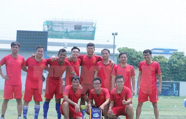 Vietnam gana campeonato de amistad Mekong-Lancang de futsal 2019 hinh anh 1