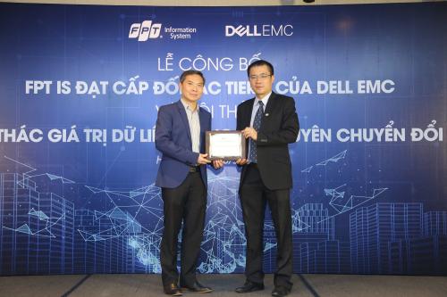 Grupo de informatica de Vietnam se asocia con compania estadounidense Dell EMC hinh anh 1