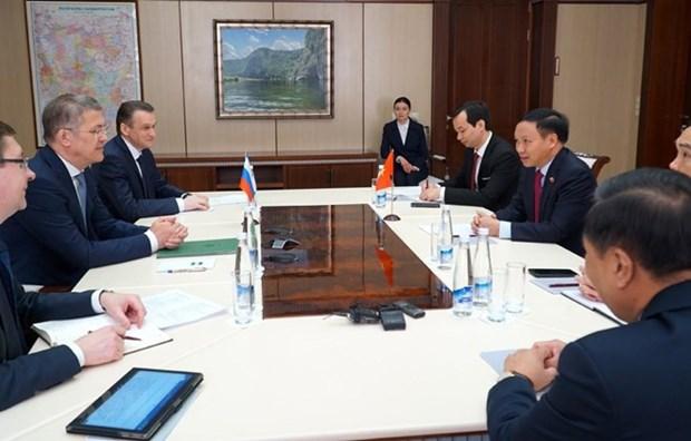 Aspira Vietnam a mejorar vida de connacionales en Republica rusa de Bashkortostan hinh anh 1