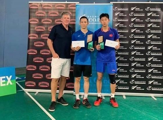 Gano Vietnam torneo de badminton en Nueva Zelanda hinh anh 1