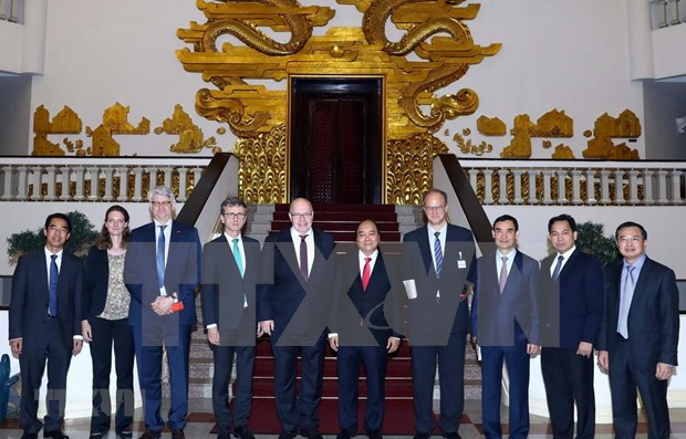 Llama Vietnam al apoyo de Alemania al sector de innovacion hinh anh 1
