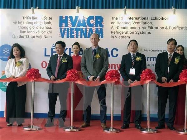 Participan mas de 250 empresas en exposicion de sistema de refrigeracion en Vietnam hinh anh 1