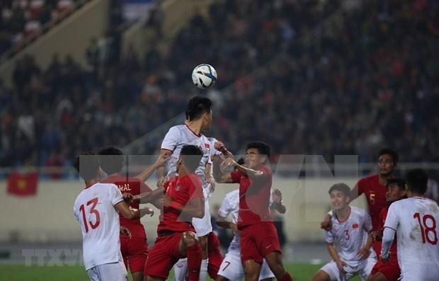 Vietnam derrota 1-0 a Indonesia en campeonato de futbol sub-23 de Asia hinh anh 1