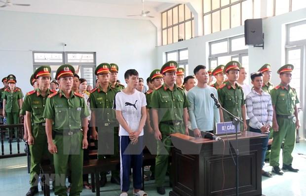 Mantienen sanciones a perturbadores de orden publico en Vietnam hinh anh 1