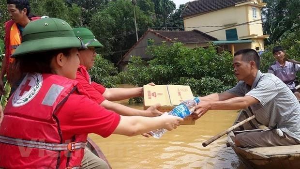 Impulsan cooperacion entre Cruz Roja de Vietnam y la de China hinh anh 1