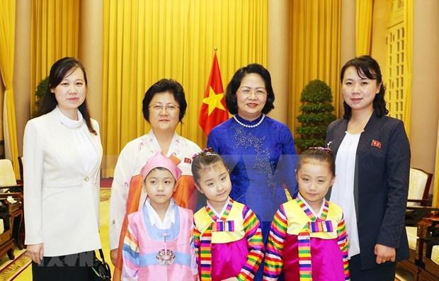 Vietnam atesora amistad con Corea del Norte, afirma vicepresidenta vietnamita hinh anh 1
