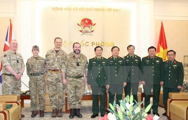 Cooperan Vietnam y Reino Unido para despliegue de hospital de campana en Sudan del Sur hinh anh 1