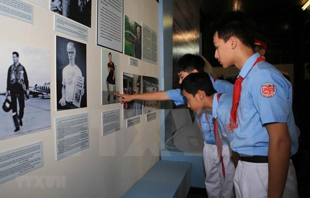 Inauguran exposiciones fotograficas sobre campanas contra guerra de Estados Unidos en Vietnam hinh anh 1