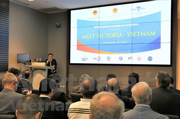 Promueven localidades vietnamitas inversiones australianas en turismo y comercio hinh anh 1