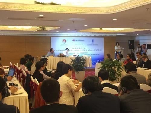 Discuten en Vietnam proyecto de decreto sobre la aplicacion de la ley contra corrupcion hinh anh 1