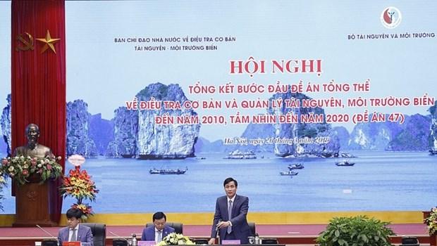 Valora Vietnam positivos resultados del plan de investigacion de recursos naturales y entorno maritimo hinh anh 1