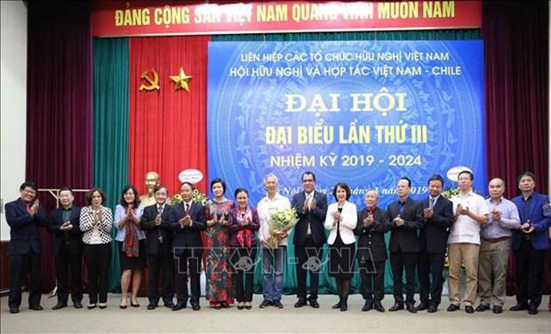 Fortalecen relaciones de amistad y solidaridad entre Vietnam y Chile hinh anh 1