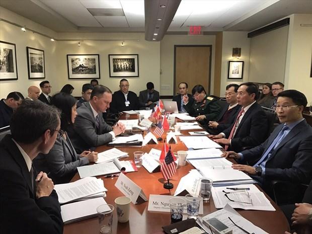 Sesiona decimo Dialogo de Seguridad, Politica y Defensa entre Vietnam y EE.UU. hinh anh 1
