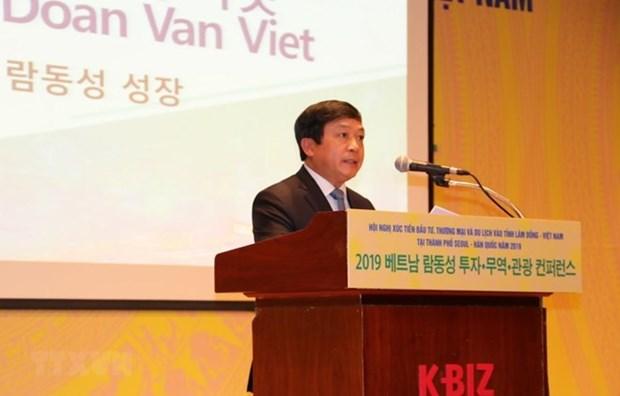 Presentan en Corea del Sur oportunidades de inversion y turismo en provincia vietnamita de Lam Dong hinh anh 1