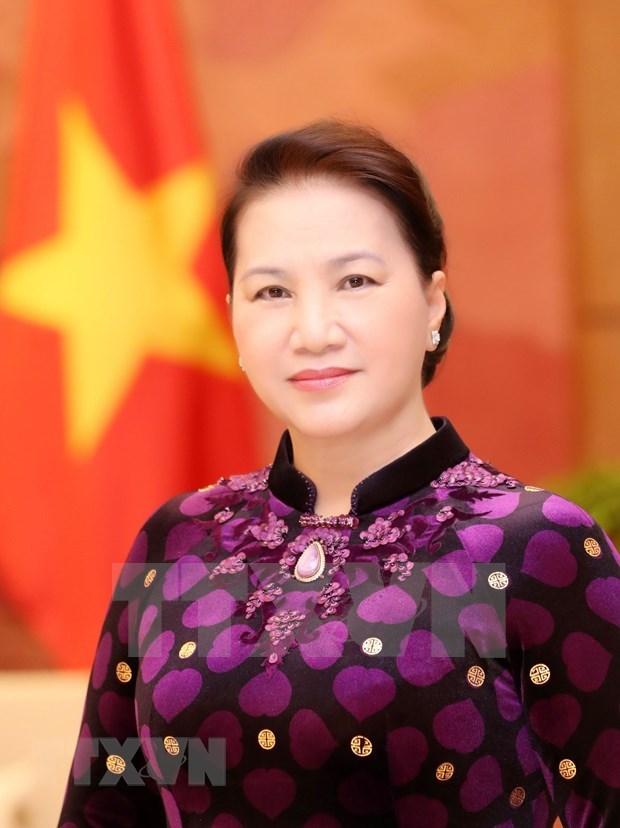 Parte presidenta del Parlamento de Vietnam para gira por Marruecos, Francia, y Quatar hinh anh 1