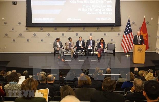 Exhortan a Vietnam y EE.UU. a mirar hacia el futuro para incrementar la cooperacion hinh anh 1