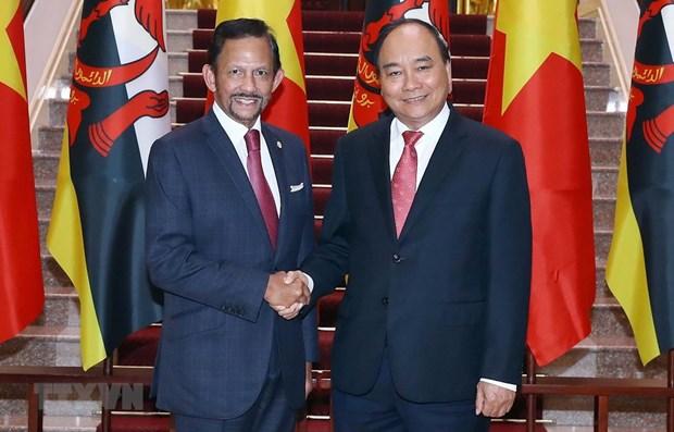 Vietnam y Brunei promueven cooperacion en defensa hinh anh 1