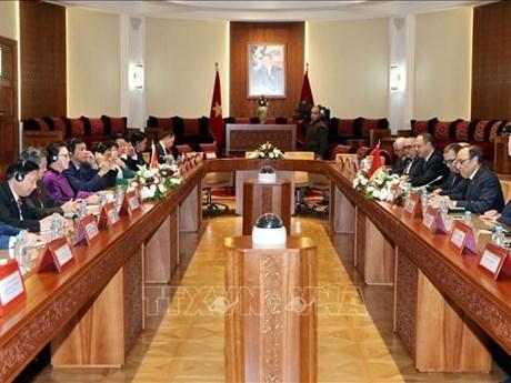 Vietnam y Marruecos robustecen nexos de cooperacion parlamentaria hinh anh 1