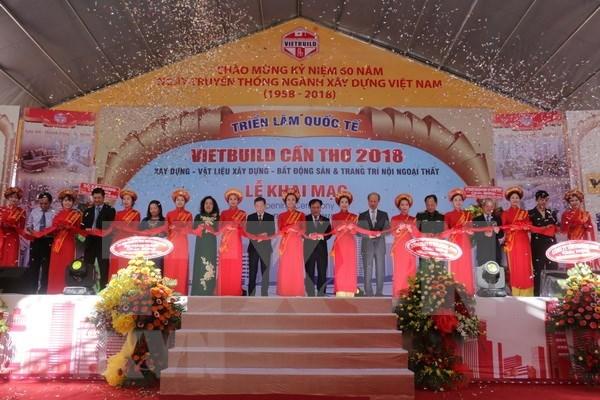 Abre sus puertas mayor exposicion de construccion de Vietnam hinh anh 1