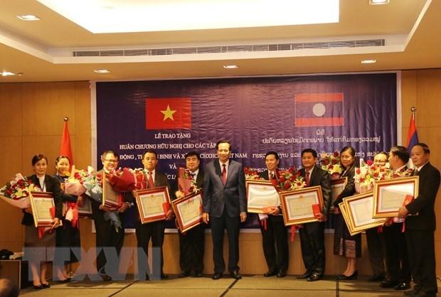 Vietnam y Laos fomentan cooperacion laboral y de bienestar social hinh anh 1