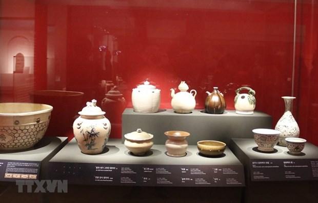 Exhiben antiguedades vietnamitas en Corea del Sur hinh anh 1