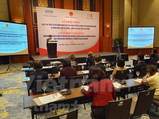 Lanzan en Vietnam concurso de diseno de obras mediaticas sobre igualdad de genero hinh anh 1