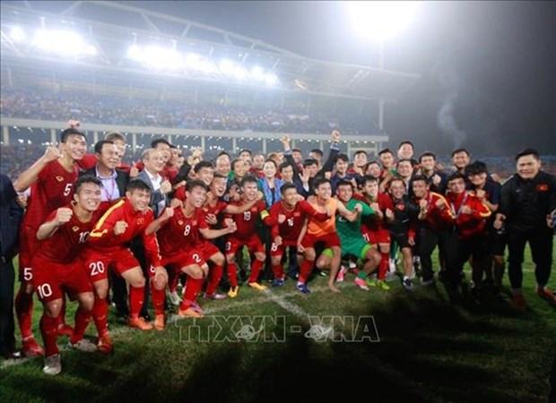 Felicitan a Vietnam por su pase a fase final del Campeonato Asiatico de Futbol 2020 hinh anh 1